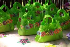 """Tinkerbell Party Handbags"" by Treasures and Tiaras Kids Parties, via Flickr"