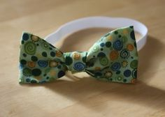 The How-To Gal: Little Boy Bow Tie Tutorial with Scraps and Strings