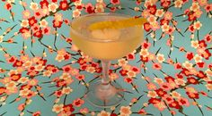 Kampei! The Lychee-tini #lychee #cocktail #elderflower #gin #lemon #triplesec #bitters #TheGentlemanCaller #martini
