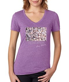 "Gene Schiavone - Ballet Collection ""Dedication"" Premium Womens V Neck T-shirt (Small) Trunk Candy http://www.amazon.com/dp/B016ZAEYQ4/ref=cm_sw_r_pi_dp_kWqqwb1B5J1H1"
