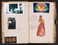 Janice Lowry chronicles events in her life and in the greater world. She was influenced by Frida Kahlo.  Journal citation: Journal #110, 2005 Aug. 13 to Nov. 21. Janice Lowry papers, Archives of American Art, Smithsonian Institution.