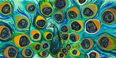 Beaded Peacock by Eli Halpin - Giclée Fine Art Print