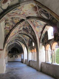 Chiostro, XIV-XV secolo, Duomo, Bressanone, Bolzano,province of South Tyrol, region of Trentino-Alto Adige, Italy