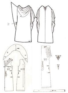 카울 원피스 (Drapery Dress)