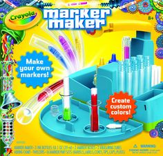 Make your own markers with Crayola Marker Maker