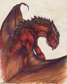 Redstone Dragon by Isvoc on DeviantArt
