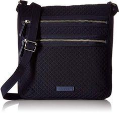 Amazon.com: Vera Bradley Triple-Zip Hipster Crossbody Purse Best Crossbody Bag Travel, Travel Bags, Acer, Purse Wallet, Vera Bradley, Purses And Bags, Messenger Bag, Wallets, Satchel