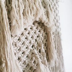 Macrame is our latest crafting crush. We actually have the talented Grace Gulley headed to Interweave Yarn Fest to teach you all about the art of knotting! You'll want to be in the know about this next trend for sure! Register Now! Next Trends, You Are Perfect, Yarn Crafts, Merino Wool Blanket, How To Introduce Yourself, Fiber Art, Macrame, Knots, Weaving