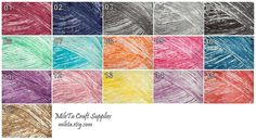 100% Soft Cotton Yarn High Quality. Knitting and by MileTa on Etsy