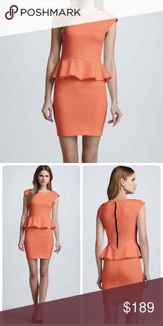 Alice + Olivia 'Victoria' Peplum Dress 6 NEW! $264 Brand new and never worn. Alice + Olivia Dresses
