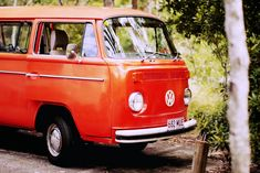 "I WANT AN ORANGE VW BUS SO I CAN NAME IT ""THE GREAT PUMPKIN""!!!"