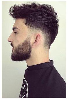 Men Haircut Curly Hair, Mens Messy Hairstyles, Low Fade Haircut, Short Hair Undercut, Haircuts For Men, Short Hair Cuts, Greaser Hairstyle, Men Undercut, Hairstyle Ideas