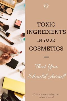 Here are the most harmful ingredients to avoid lurking in your own common skincare, hair, nails, and beauty products. Check your labels now to find out. Beauty Care, Diy Beauty, Beauty Tips, Beauty Hacks, Natural Health, Natural Tan, Natural Living, Herbal Remedies, Health Remedies