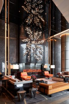 Working On A Hotel Lobby Furniture Interior Design Luxury Interior Design, Interior Design Inspiration, Design Ideas, Design Projects, Furniture Inspiration, Design Trends, Casa Hotel, Hotel Lounge, Lobby Lounge