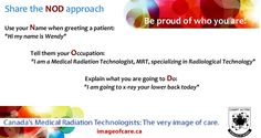 Don't forget to give the NOD to every patient! Radiology, Don't Forget, Names, Image