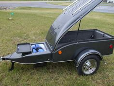 small trailers to pull behind your car | Motorcycle / Small Car Cargo Trailers