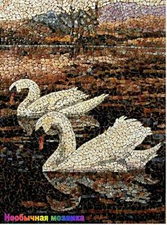 40 Most Intelligent Mosaic Art Works and Practices - Bored Art Mosaic Tile Art, Mosaic Artwork, Pebble Mosaic, Mosaic Crafts, Mosaic Projects, Mosaic Glass, Glass Art, Stained Glass, Mosaic Animals