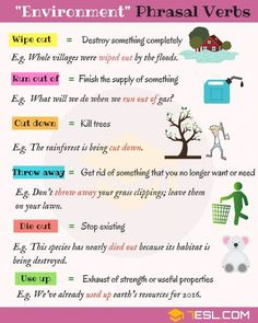 Easy Ways to Learn Phrasal Verbs in English - ESL Buzz This list of phrasal verbs will help you improve and advance your English. English Idioms, English Phrases, Learn English Words, English Lessons, English Grammar, English Prepositions, English English, French Lessons, Spanish Lessons