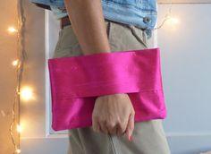 Evening wrist wallet pink, clutch bag, fancy wrist wallet, christmas, wallet purse, Xmas gift, accessory, pouch bag,pink dupioni silk, women