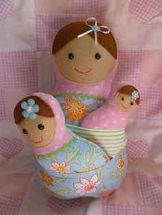 Nesting Babushka Dolls - by misscaitiej on madeit