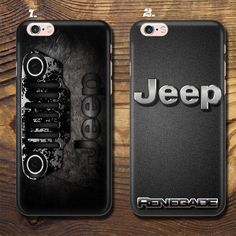 Jeep Luxury Expensive Car Logo Case Cover Iphone 5/5S 6/6S+7 8 X + Samsung + Lg