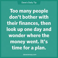Find the education and inspiration you need to win from dave ramsey, americ Financial Quotes, Financial Peace, Financial Success, Financial Planning, Financial Assistance, Bujo, Dave Ramsey Quotes, Money Makeover, Budgeting Finances