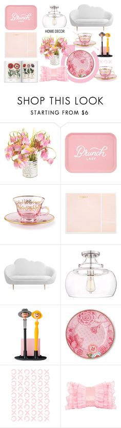"""Home decor"" by thestyleartisan ❤ liked on Polyvore featuring interior, interiors, interior design, home, home decor, interior decorating, Sugar Paper, Franklin Iron Works and PiP Studio"