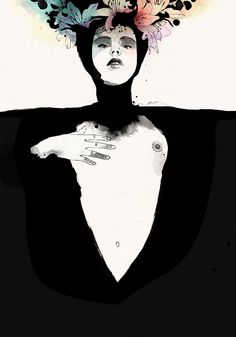 Conrad Roset - Watercolor and Ink