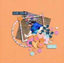 Cluster Me Happy 12x12 Layout Templates