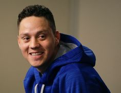 Wilmer FLores, NYM, press conference, before Game 4  NLDS v LAD, Oct 13, 2015