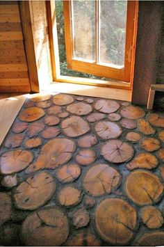 The coolest wood floor