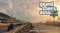 Rockstar Games   rockstar games por fin ha mostrado un video de grand theft auto v con ...