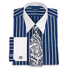 Barber Shop Singers? Straight Collar French Cuff Dress Shirt http://www.vintagedancer.com/1920s/1920s-shirts-men/