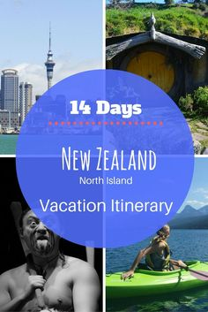 Travel Itinerary: 14 Days North Island of New Zealand - Peanuts or Pretzels
