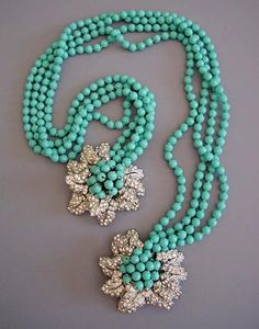 unique handmade jewelry: miriam haskell jewelry | make handmade, crochet, craft