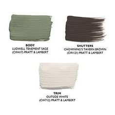 Pick the Right Exterior Paint Colors | Earthy Tones | SouthernLiving.com by emma-q