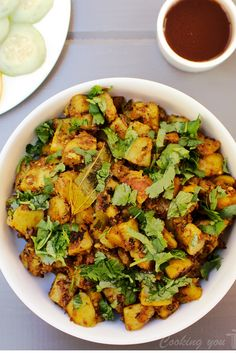 Instant Pot Achari Aloo is a simple, flavorful and tangy potato dish. Potatoes are pressure cooked with dry Indian spices making them flavorful by evenly coating each piece. This is an easy to make recipe ready in just under 10 minutes!