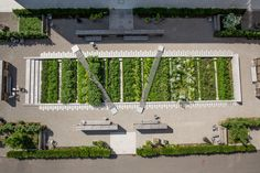 Novartis Campus - Physic Garden by Sweco Architects & Thorbjörn Andersson in Basel, Switzerland on Shapedscape