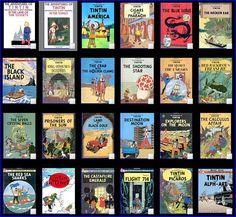 Tintin is the best adventure series ever! Tintin - Tenten