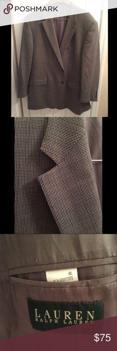 Ralph Lauren Men's Sports Jacket Ralph Lauren Men's Sports Jacket, excellent condition, 48 L Lauren Ralph Lauren Suits & Blazers Sport Coats & Blazers