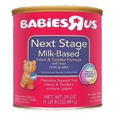 Babies R Us Next Stage Milk-Based Formula with Iron Powder – 24oz. Price: $9.99 Milk Packaging, Babies R Us, Powdered Milk, Kids Nutrition, Baby Feeding, Infant, Stage, Iron, Ebay