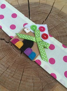 Gingerbread House Fabric Headband by letterbdesigns on Etsy https://www.etsy.com/listing/213291993/gingerbread-house-fabric-headband