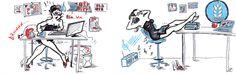 Una #soluzione semplice c'è: #Hadafteam #SaraMorghese #Illustrator for #Hadaf #comunicazione #marketing