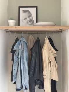 Inspiration for Hall Styling Interior Design by Nicole & Fleur - # for - - Ikea Closet Ideas, Ideas Armario, Small Hall, Mudroom, Home Organization, Home And Living, Living Room, Small Spaces, Sweet Home