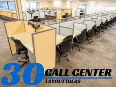 Need to maximize your call center cubicles office space? Let the call center design experts, Interior Concepts, custom design and manufacture your cubicles! Office Furniture Design, Office Interior Design, Furniture Layout, Office Interiors, School Furniture, Rustic Interiors, Open Office Design, Workplace Design, Office Designs