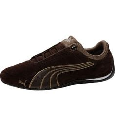 A low-profile shoe with big styleWe updated a PUMA classic for a look that will take any casual outfit to a whole new level. Sure, motorsport fans will love its comfy construction, but it's the sleek silhouette, rich-looking suede upper, and cutting-edge design elements that will really get engines racing.Features:Suede upper with synthetic leather PUMA Formstrip for big-time style Lace-up closure for secure fitMolded midsole with EVA cushioning for maximum support and comfortRubber outsole…
