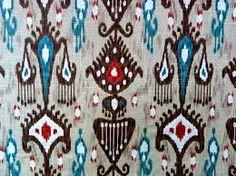 Lovely ikat pattern