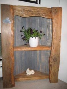 Build A Corner Shelf From Repurposed Wood