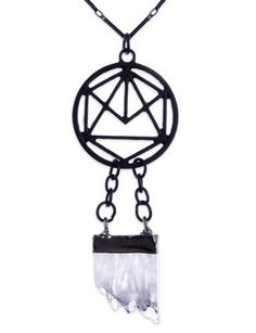 Restyle-Gothic-Halskette-Kristall-Geometry-Crystal-Witchy-Hexe-Occult-Necklace