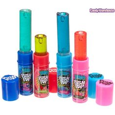 Push Pops Lipstick Lollies